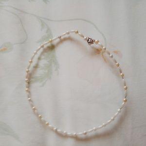 Pearl Beads Choker/VSCO